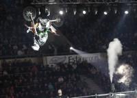 Ivan Zucconi in acrobazia con Dream Pit bike