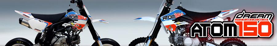 Atom 150cc Pit bike Cross e Pit bike Motard